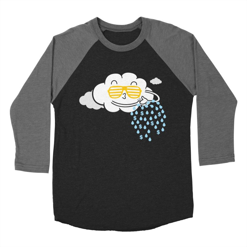Make It Rain Men's Baseball Triblend T-Shirt by Made With Awesome