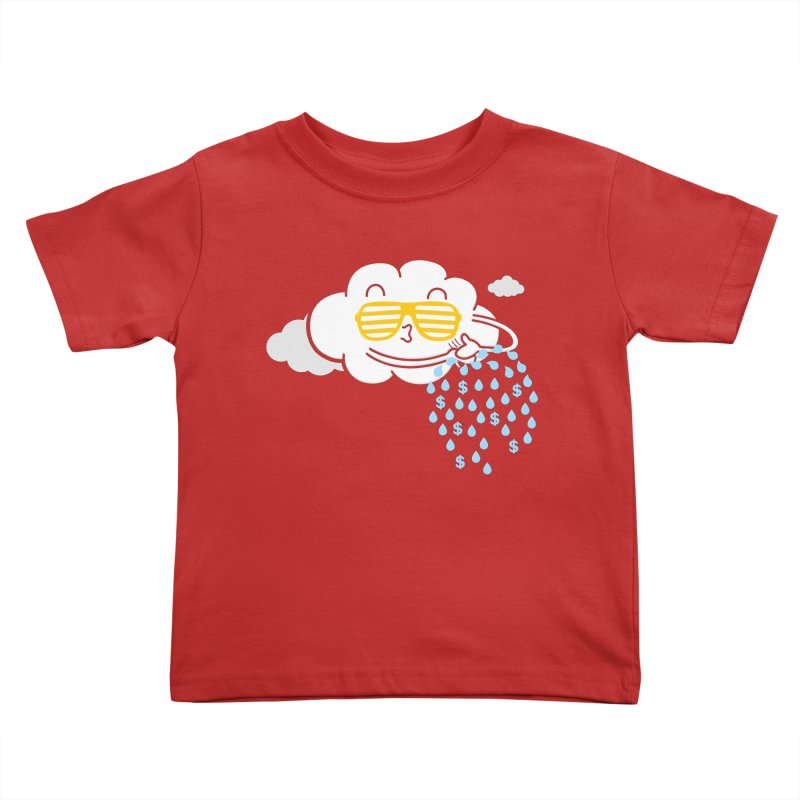 Make It Rain Kids Toddler T-Shirt by Made With Awesome