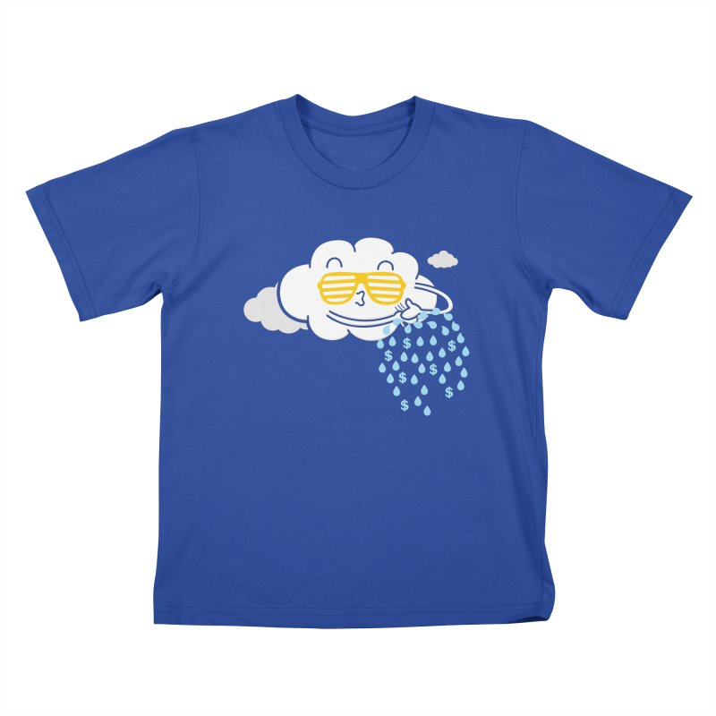 Make It Rain Kids T-shirt by Made With Awesome