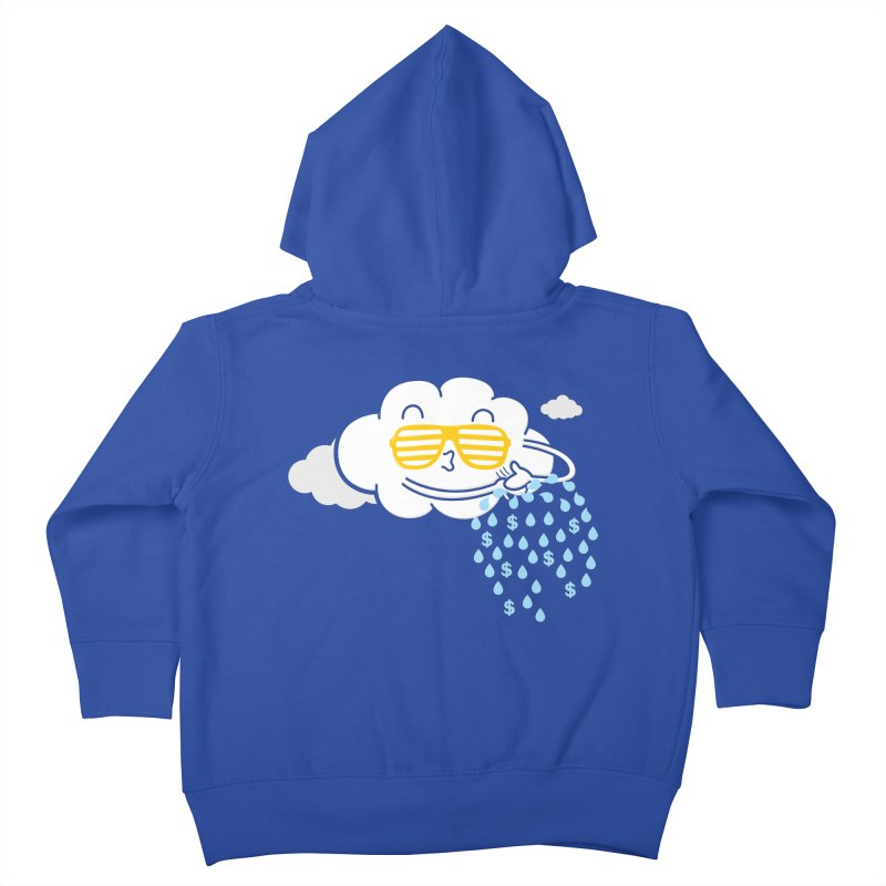 Make It Rain Kids Toddler Zip-Up Hoody by Made With Awesome