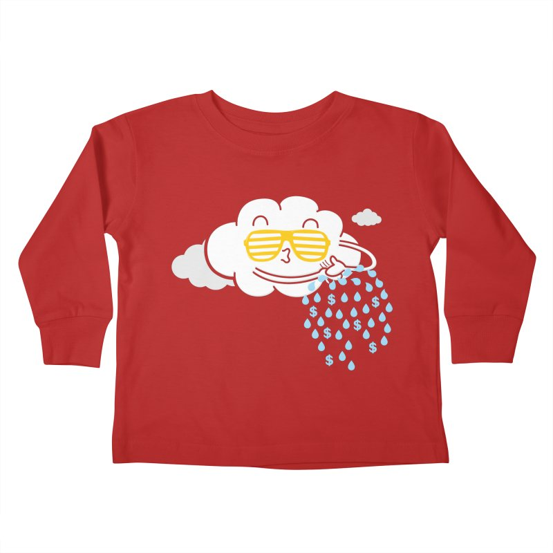 Make It Rain Kids Toddler Longsleeve T-Shirt by Made With Awesome