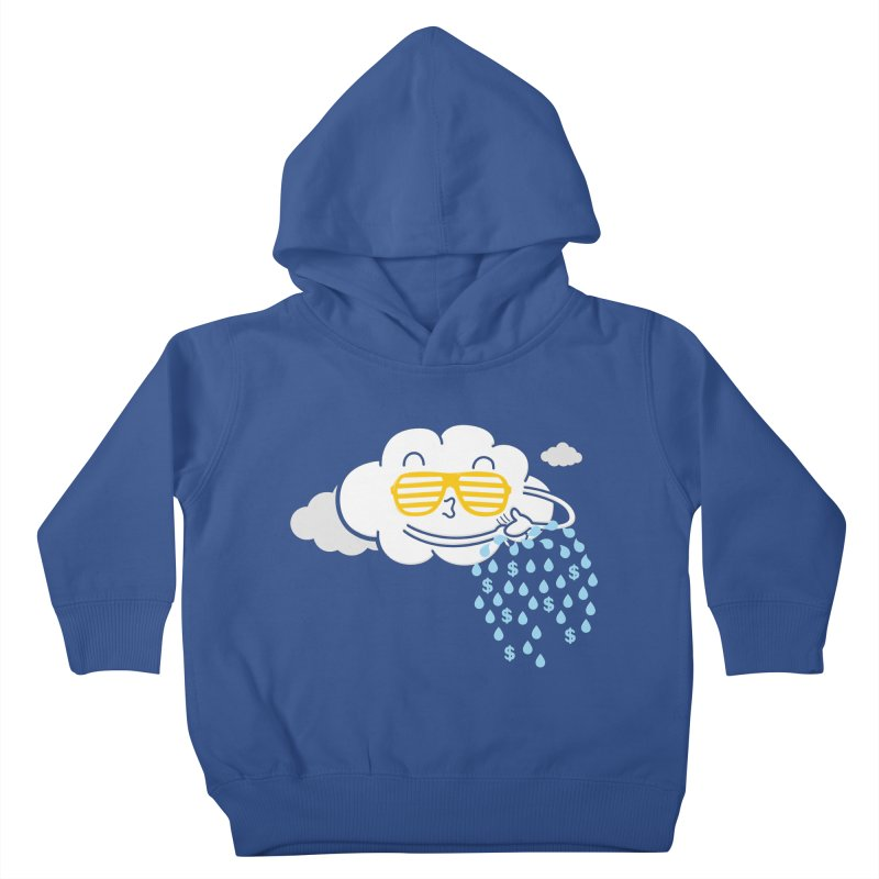 Make It Rain Kids Toddler Pullover Hoody by Made With Awesome