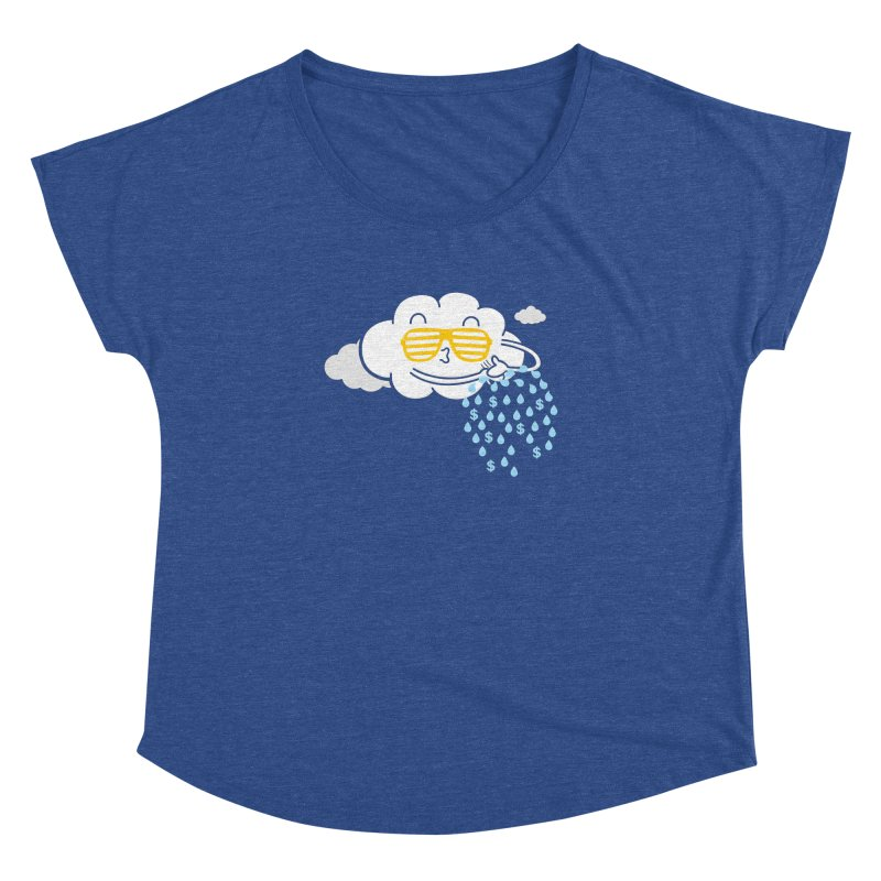 Make It Rain Women's Dolman by Made With Awesome
