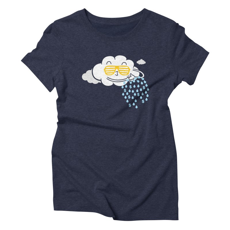 Make It Rain Women's Triblend T-shirt by Made With Awesome