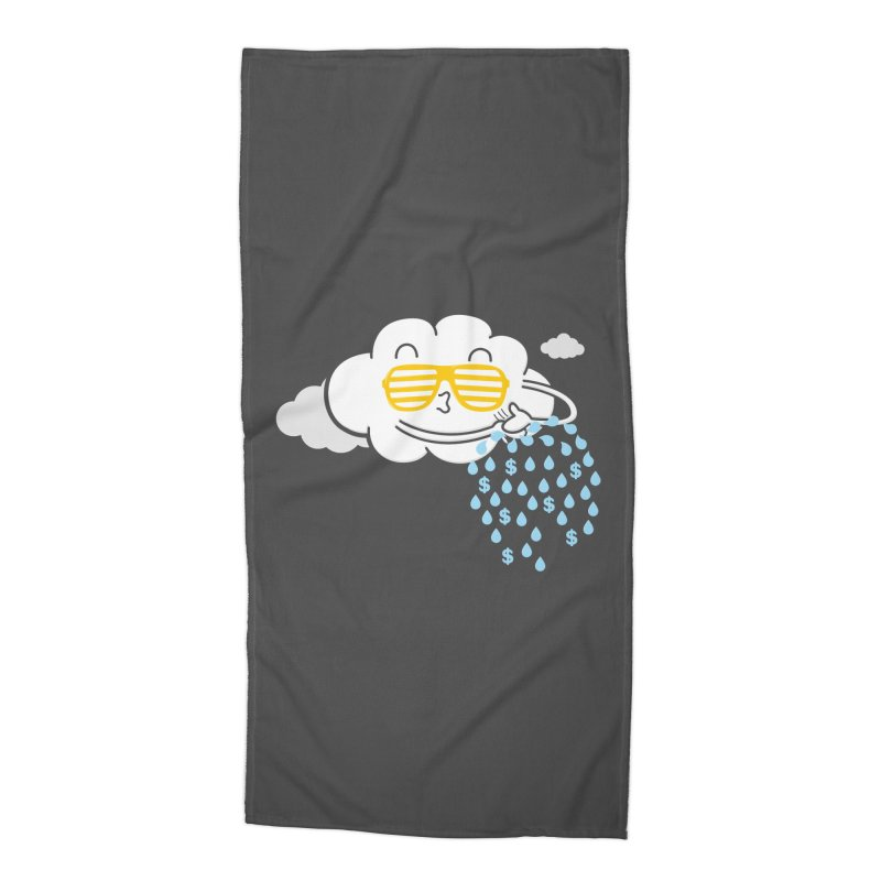 Make It Rain Accessories Beach Towel by Made With Awesome