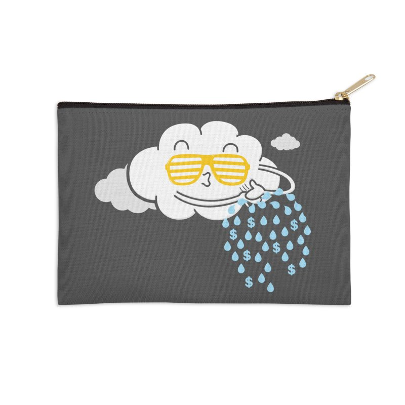 Make It Rain Accessories Zip Pouch by Made With Awesome