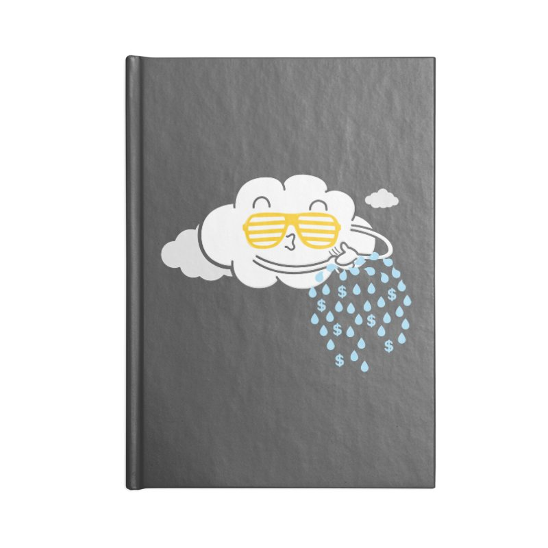 Make It Rain Accessories Notebook by Made With Awesome