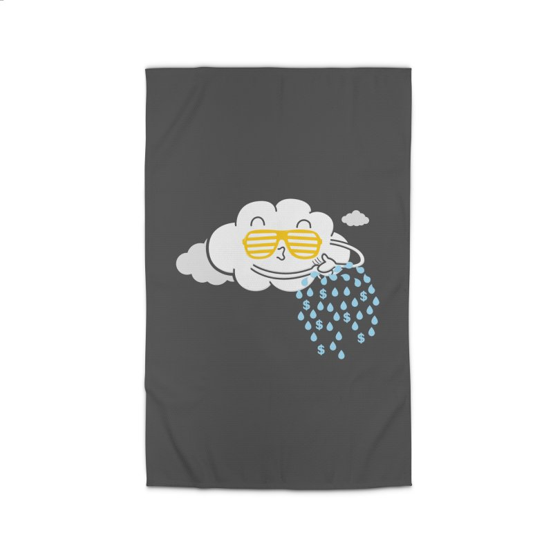 Make It Rain Home Rug by Made With Awesome