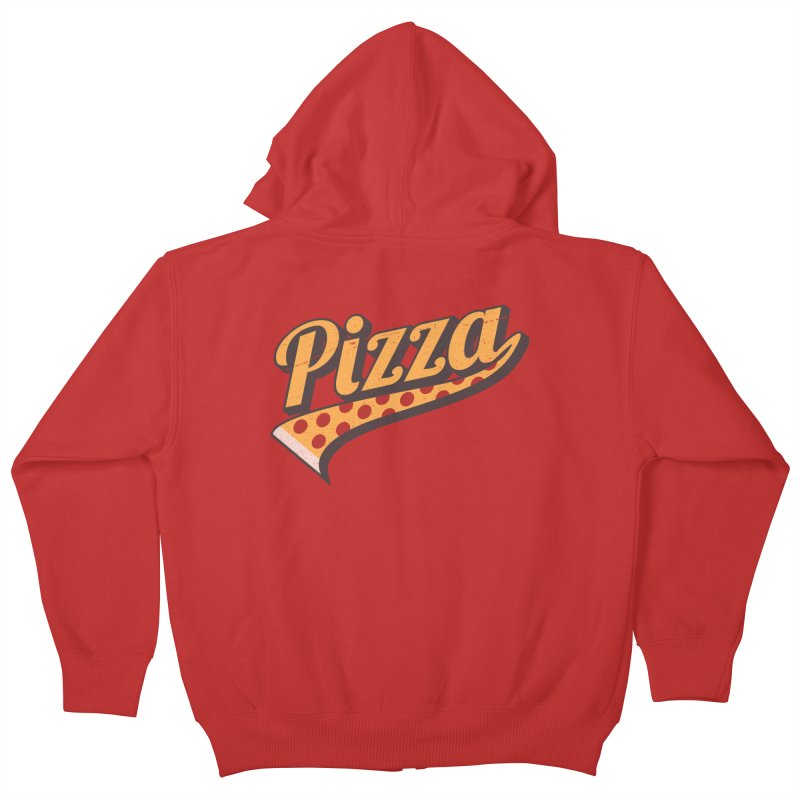 My Favorite Sport Kids Zip-Up Hoody by Made With Awesome