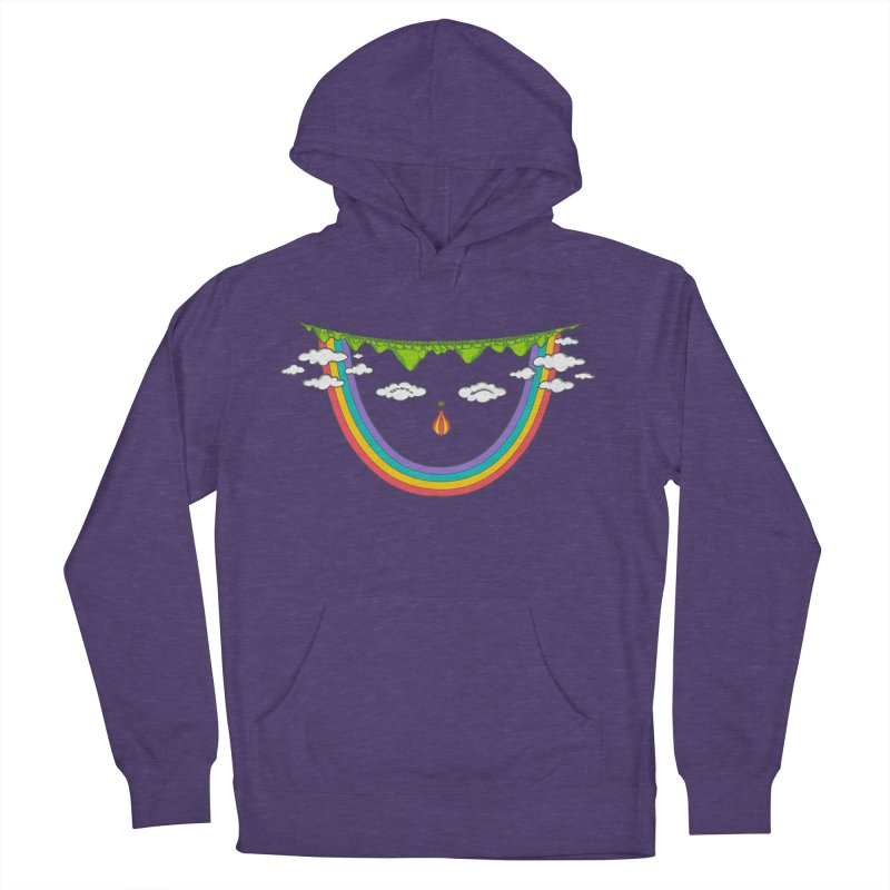 Turn That Frown Men's Pullover Hoody by Made With Awesome