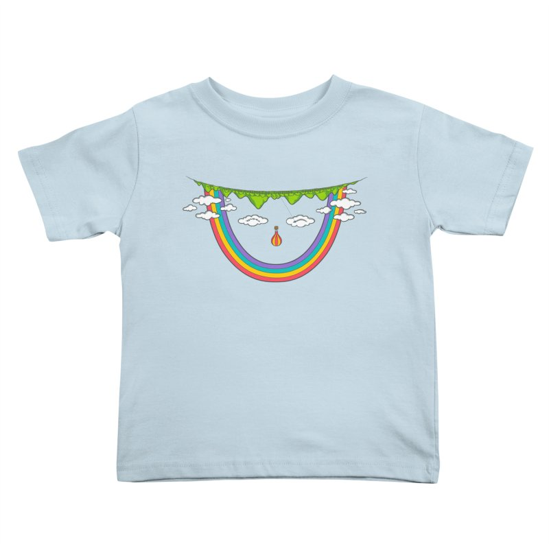 Turn That Frown Kids Toddler T-Shirt by Made With Awesome