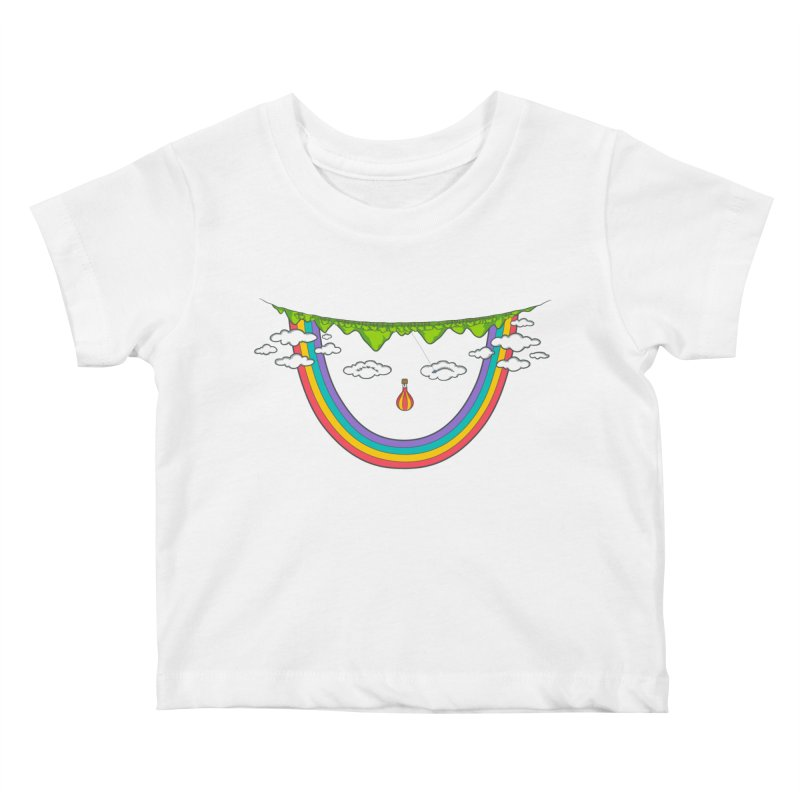Turn That Frown Kids Baby T-Shirt by Made With Awesome