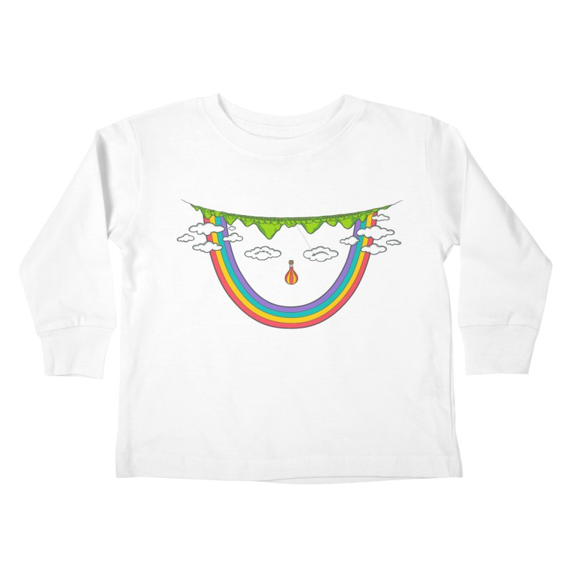 Turn That Frown Kids Toddler Longsleeve T-Shirt by Made With Awesome