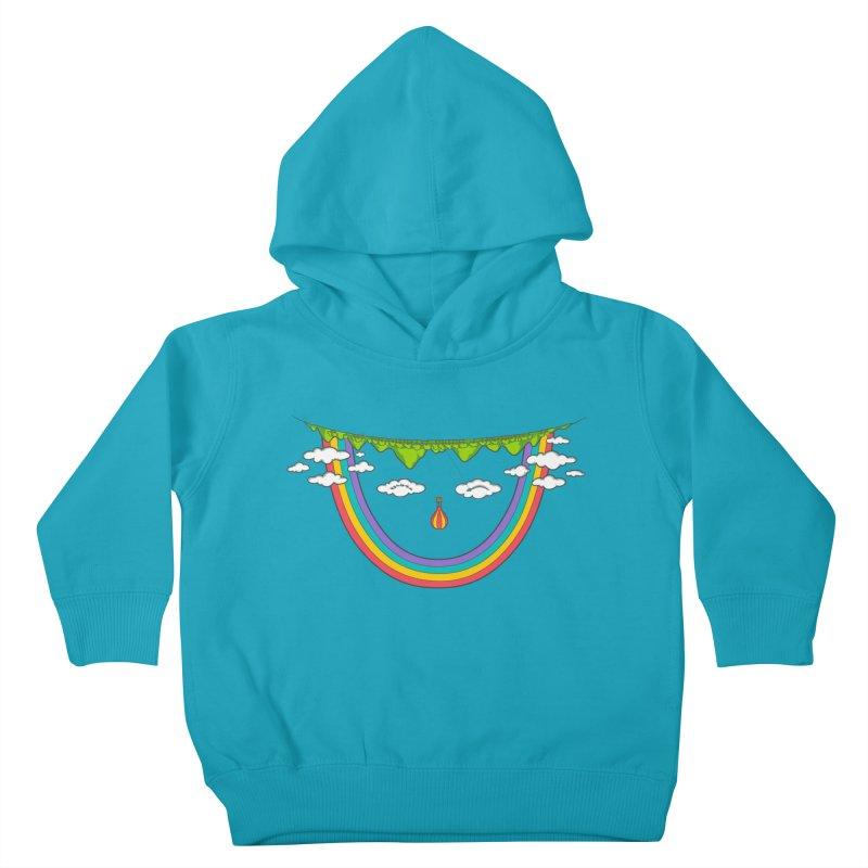 Turn That Frown Kids Toddler Pullover Hoody by Made With Awesome