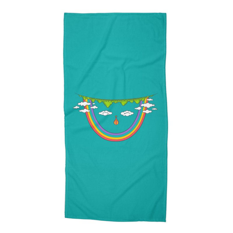 Turn That Frown Accessories Beach Towel by Made With Awesome