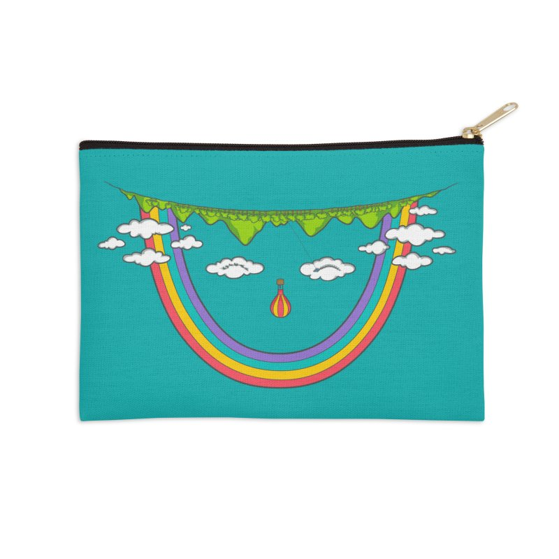Turn That Frown Accessories Zip Pouch by Made With Awesome