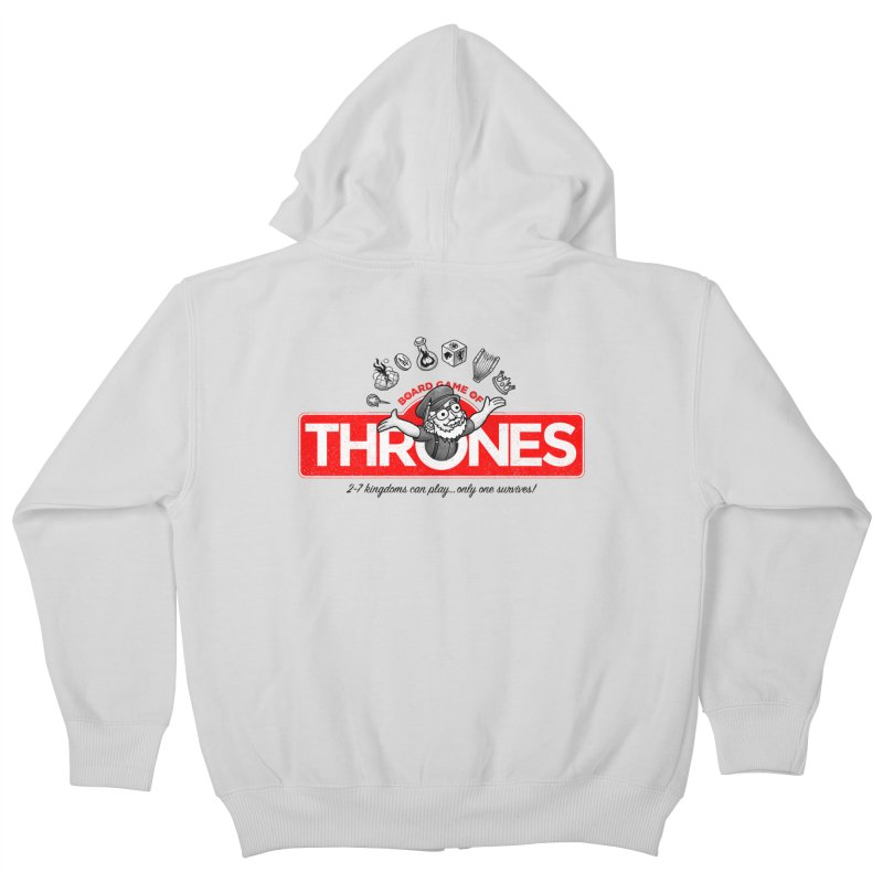 Thronopoly Kids Zip-Up Hoody by Made With Awesome
