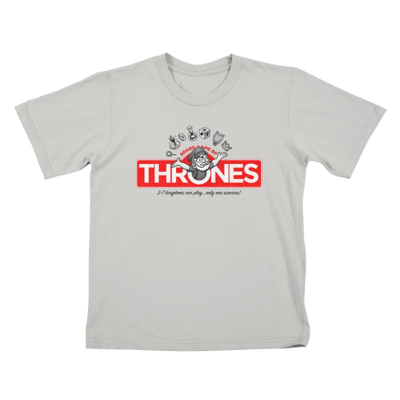 Thronopoly Kids T-shirt by Made With Awesome