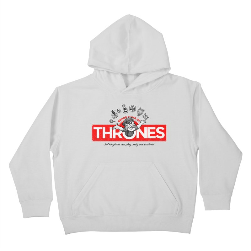 Thronopoly Kids Pullover Hoody by Made With Awesome