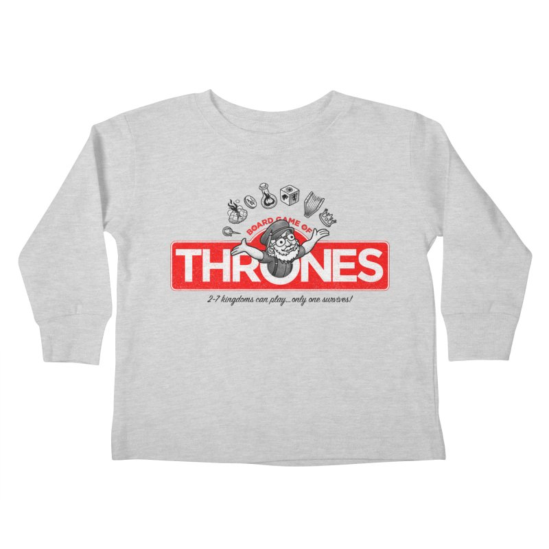 Thronopoly Kids Toddler Longsleeve T-Shirt by Made With Awesome