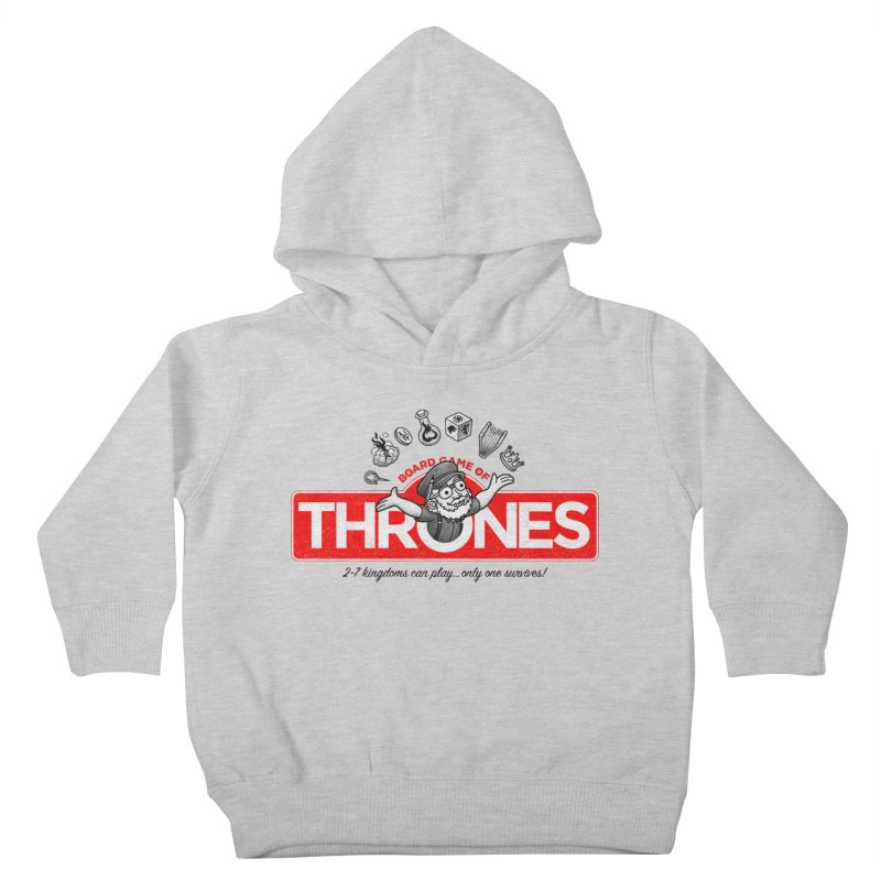Thronopoly Kids Toddler Pullover Hoody by Made With Awesome