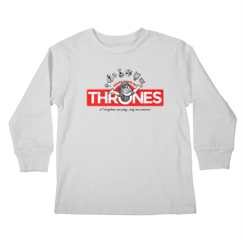 Thronopoly Kids Longsleeve T-Shirt by Made With Awesome