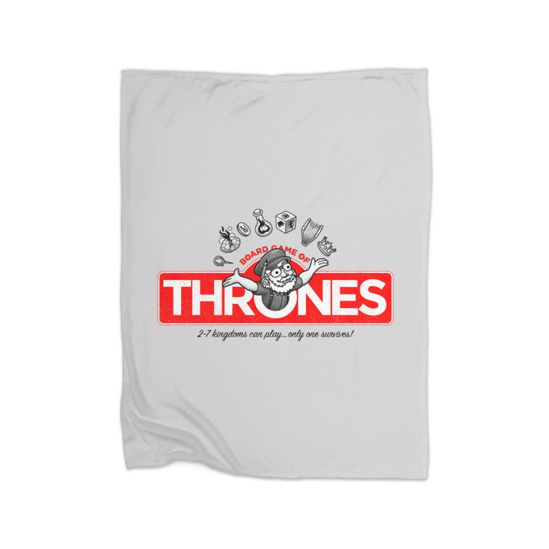 Thronopoly Home Fleece Blanket by Made With Awesome