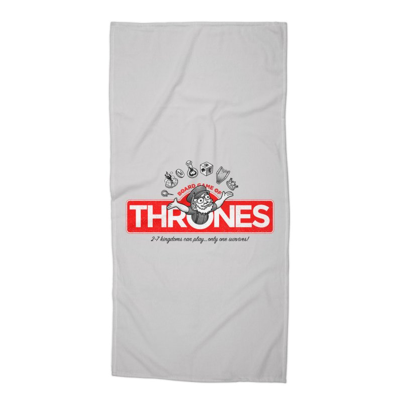 Thronopoly Accessories Beach Towel by Made With Awesome