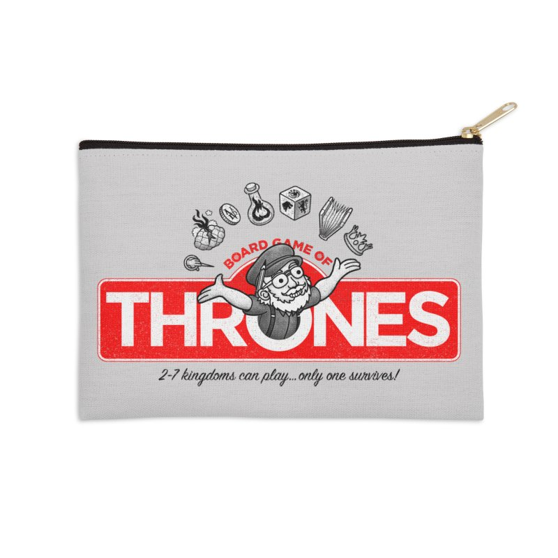 Thronopoly Accessories Zip Pouch by Made With Awesome