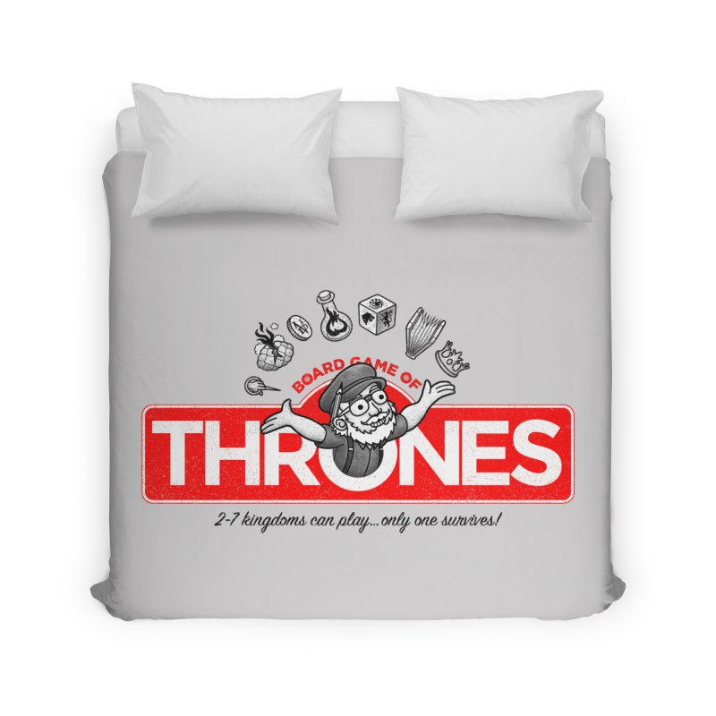 Thronopoly Home Duvet by Made With Awesome