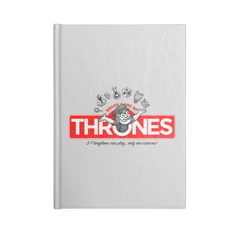 Thronopoly Accessories Notebook by Made With Awesome