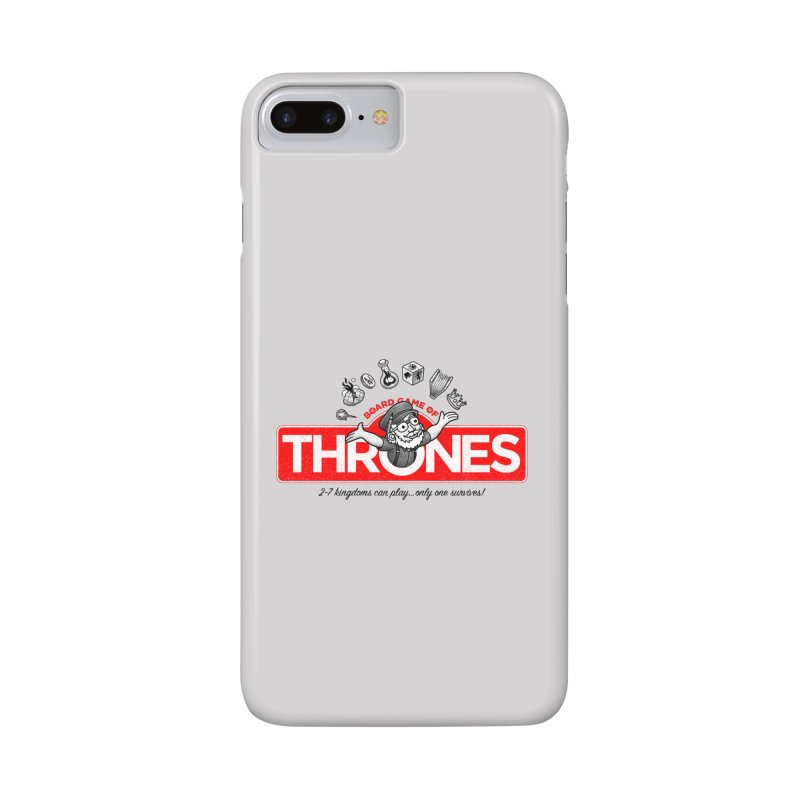 Thronopoly Accessories Phone Case by Made With Awesome
