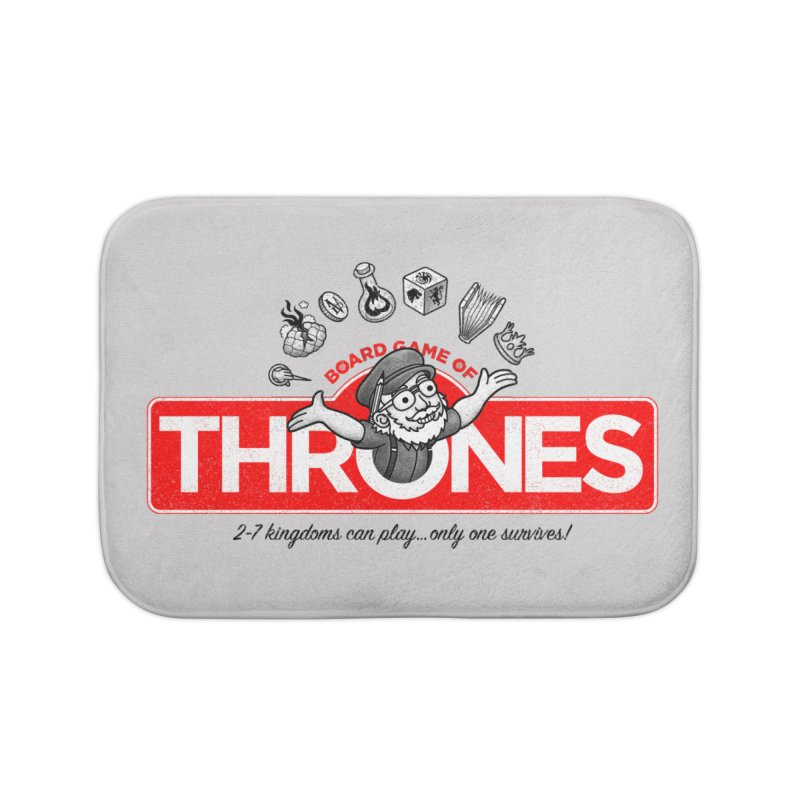 Thronopoly Home Bath Mat by Made With Awesome