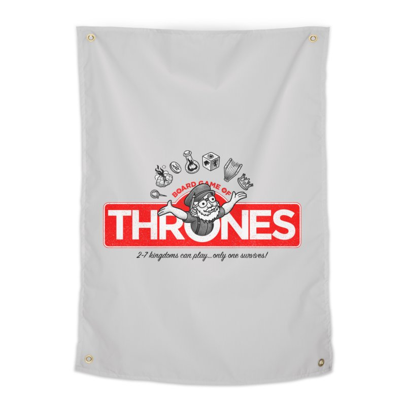 Thronopoly Home Tapestry by Made With Awesome