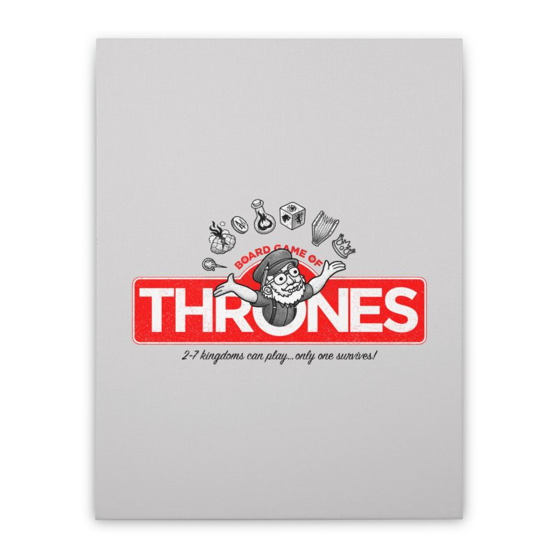 Thronopoly Home Stretched Canvas by Made With Awesome