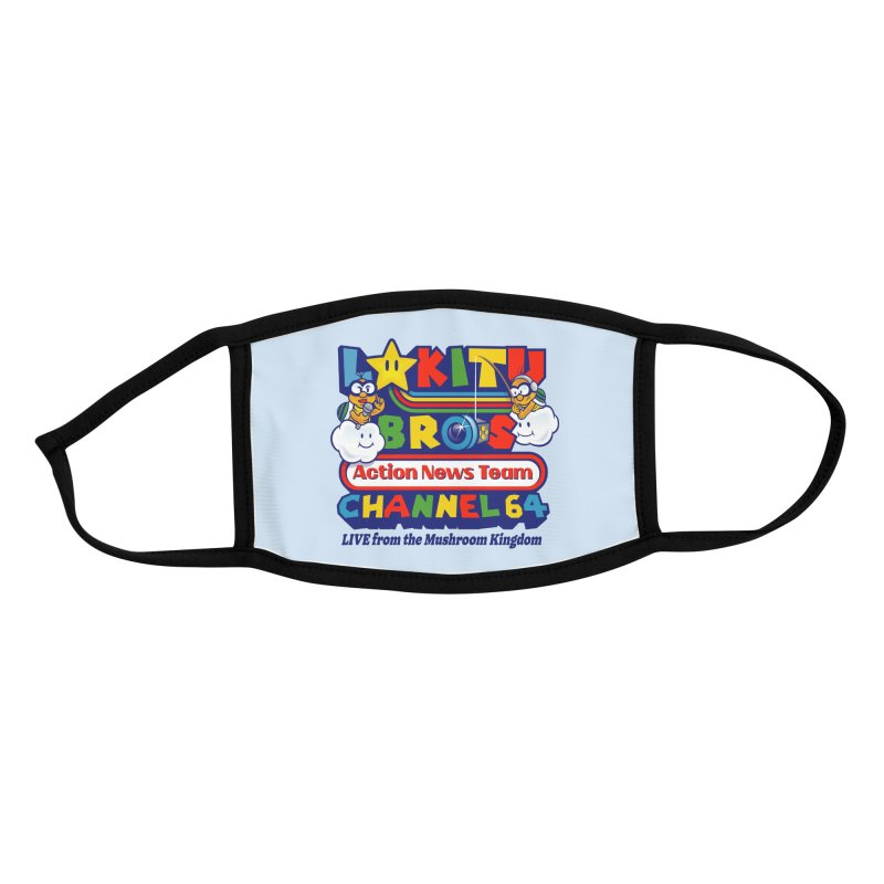 Channel 64 Accessories Face Mask by Made With Awesome