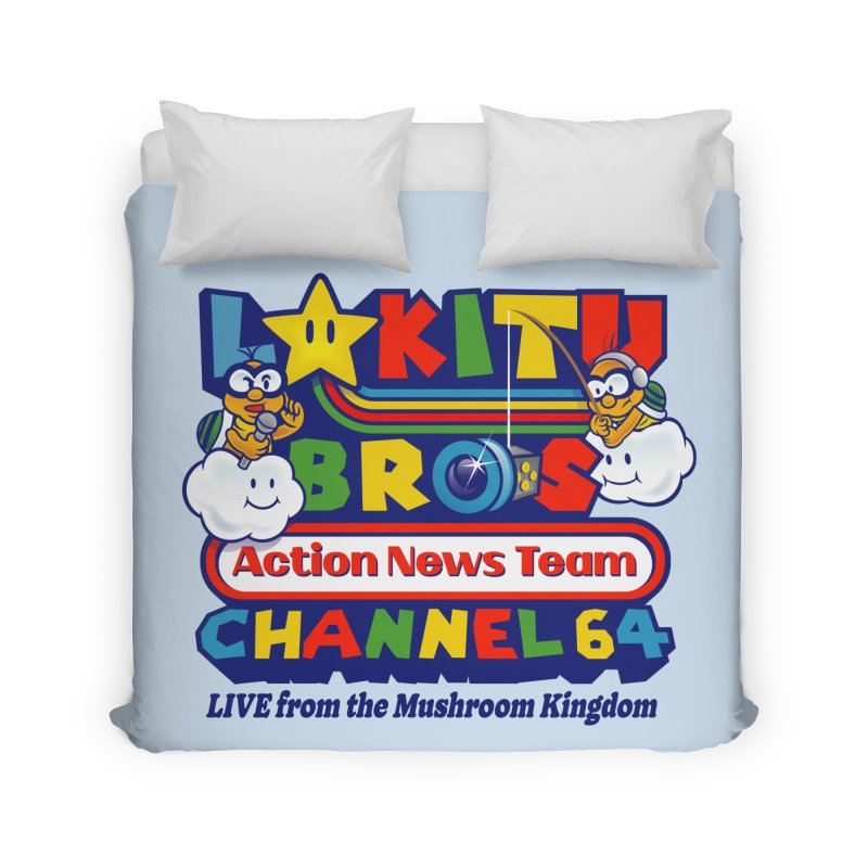 Channel 64 Home Decor Duvet by Made With Awesome