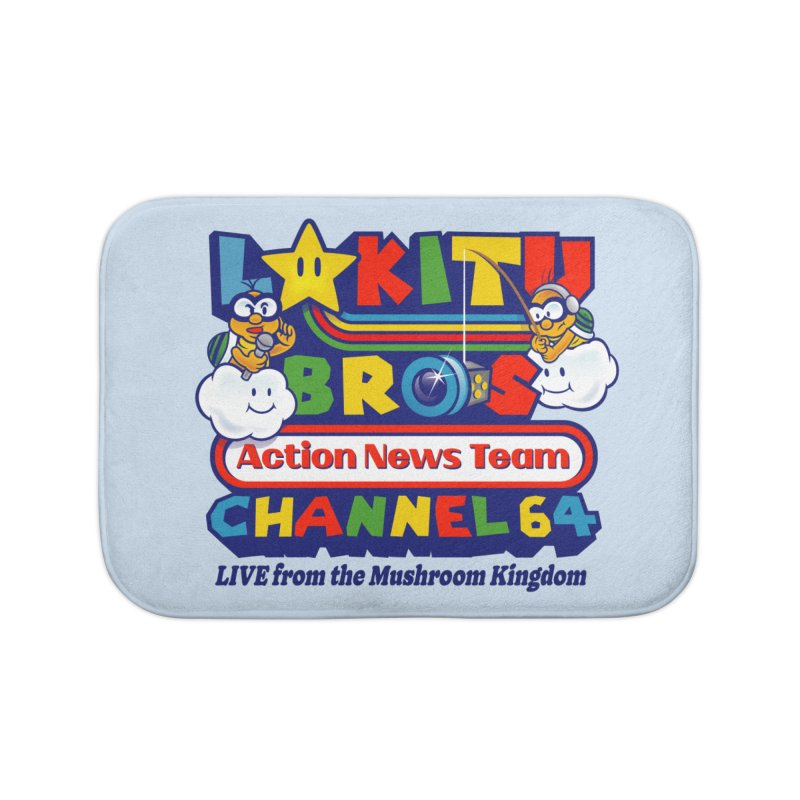 Channel 64 Home Decor Bath Mat by Made With Awesome