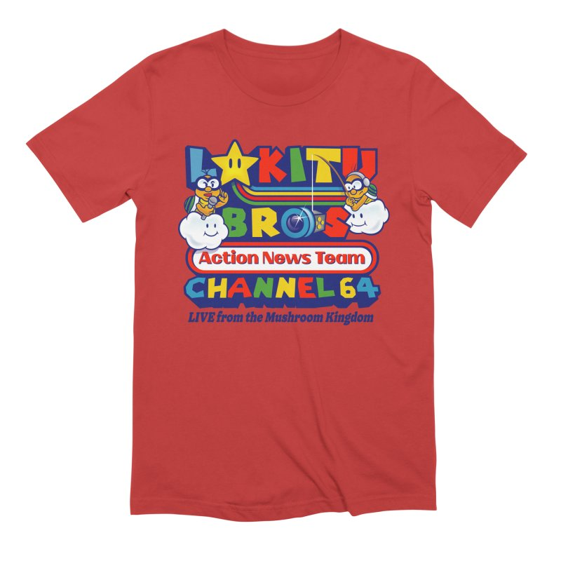 Channel 64 Guys T-Shirt by Made With Awesome