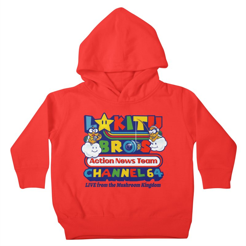 Channel 64 Lil' Ones Toddler Pullover Hoody by Made With Awesome
