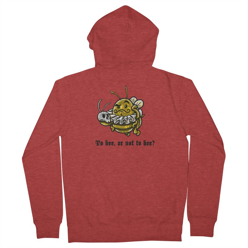 To Bee Men's Zip-Up Hoody by Made With Awesome