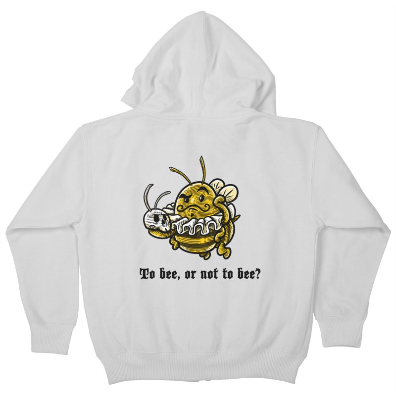 To Bee Kids Zip-Up Hoody by Made With Awesome