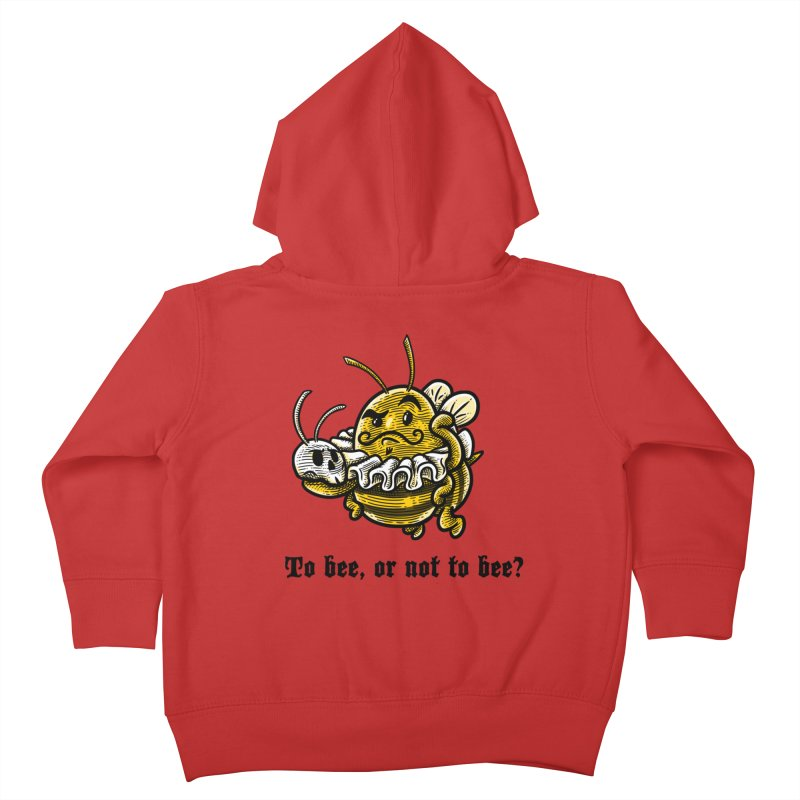 To Bee Kids Toddler Zip-Up Hoody by Made With Awesome
