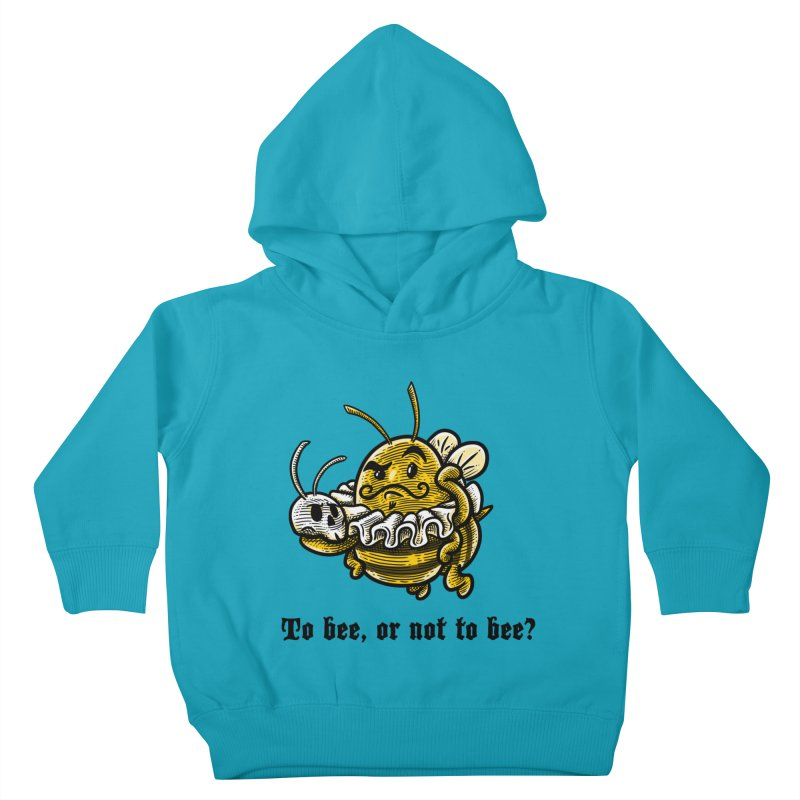 To Bee Kids Toddler Pullover Hoody by Made With Awesome