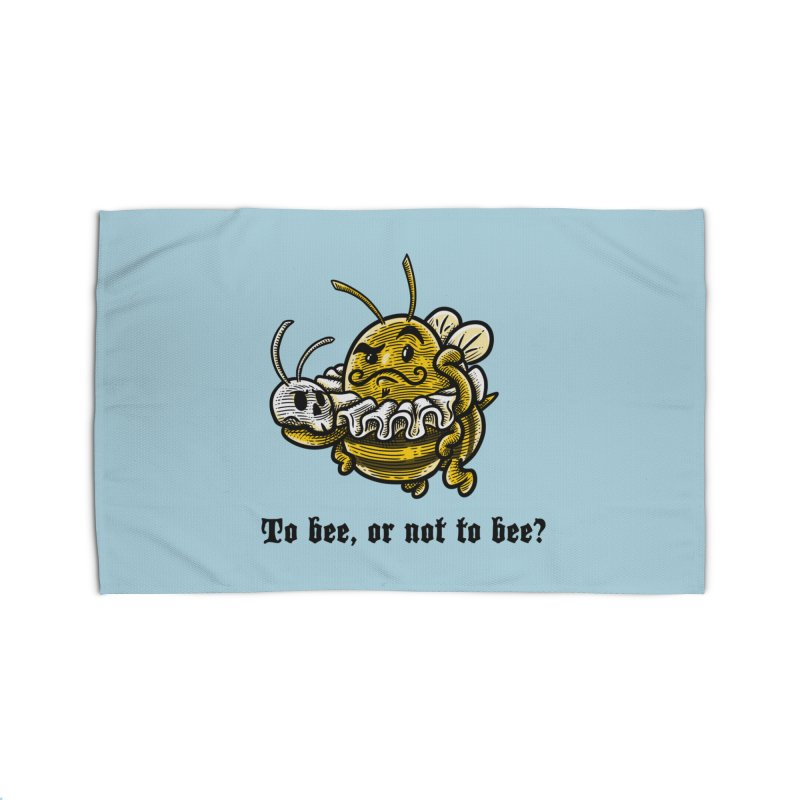 To Bee Home Rug by Made With Awesome