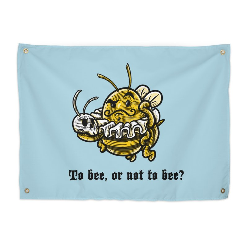 To Bee Home Tapestry by Made With Awesome