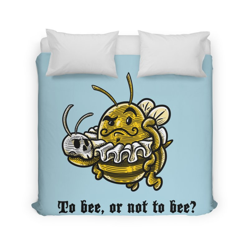 To Bee Home Duvet by Made With Awesome
