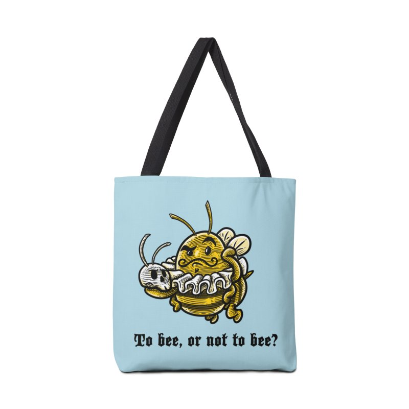 To Bee Accessories Bag by Made With Awesome