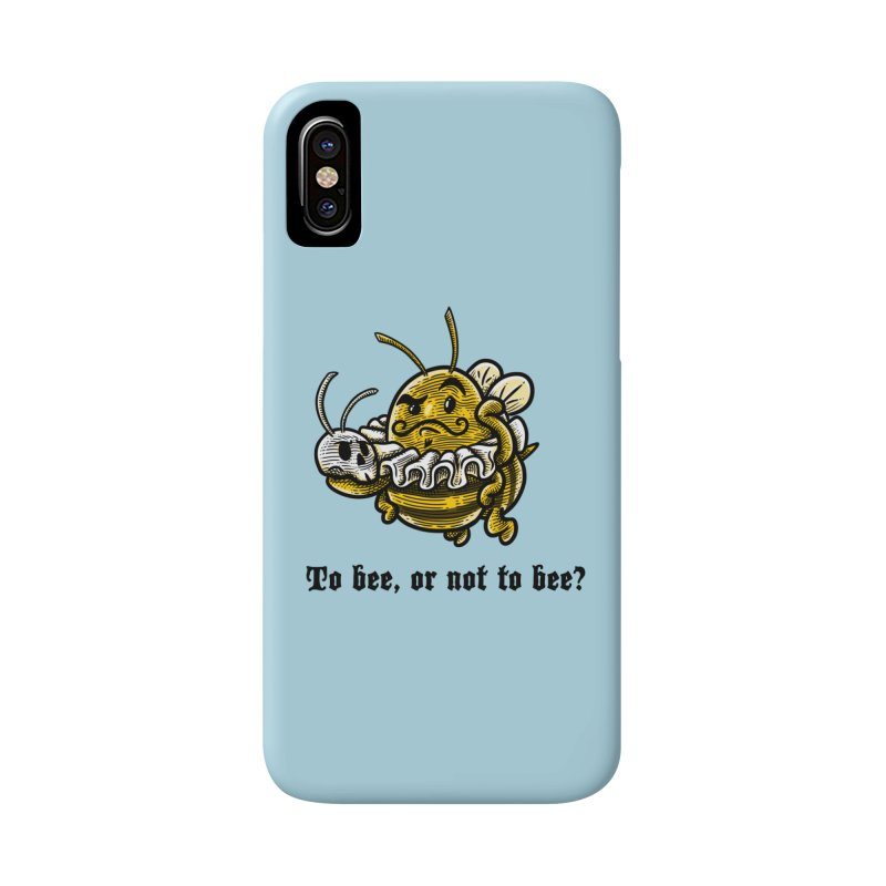 To Bee Accessories Phone Case by Made With Awesome
