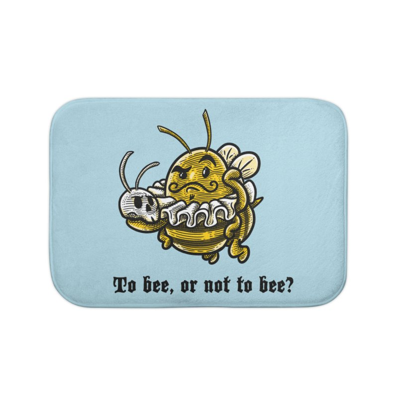To Bee Home Bath Mat by Made With Awesome